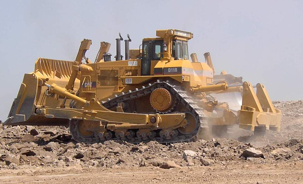 Equipment Rental Bulldozer