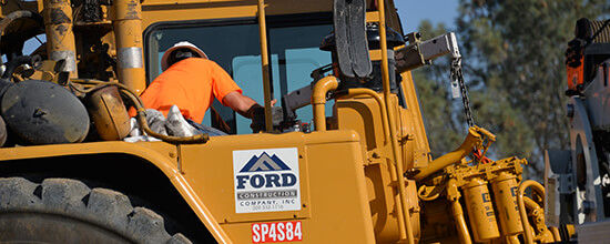 Employment at Ford Construction